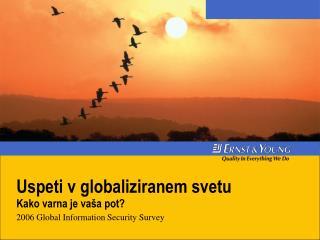 Uspeti v globaliziranem svetu