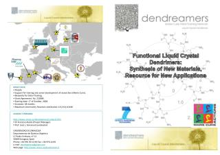 Functional Liquid Crystal Dendrimers:  Synthesis of New Materials, Resource for New Applications