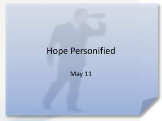 Hope Personified