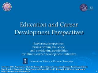 Education and Career Development Perspectives