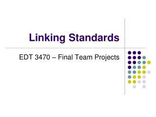 Linking Standards