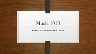 Music 1010