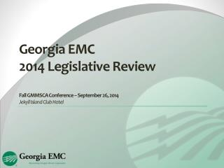 2014 Legislative Review