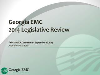 2014 Legislative Review
