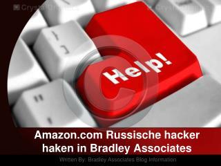 Amazon.com Russische hacker haken in Bradley Associates