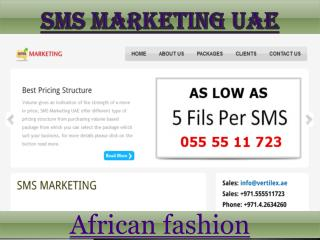 Sms marketing uae