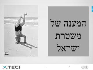 המענה של משטרת ישראל
