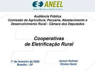 Cooperativas  de Eletrificação Rural