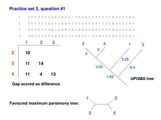 Practice set 2, question #1