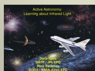 Active Astronomy: Learning about Infrared Light