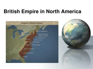 British Empire in North America