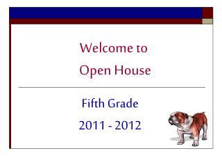 Fifth Grade  2011 - 2012