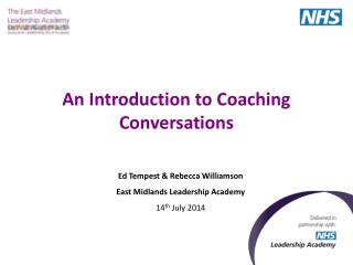 An Introduction to Coaching Conversations
