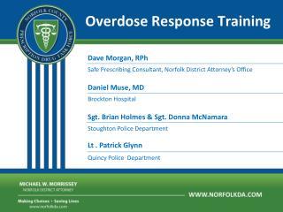 Overdose Response Training