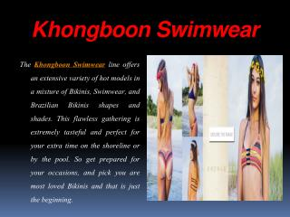 Buy Stylish and Designer Swimwear Bikinis