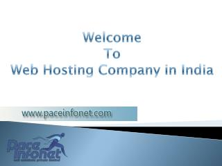 Web Hosting Agency in India