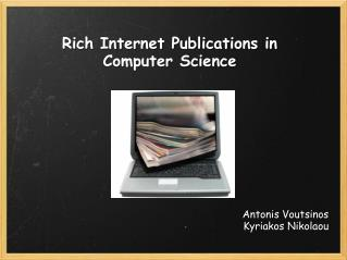 Rich Internet Publications in Computer Science