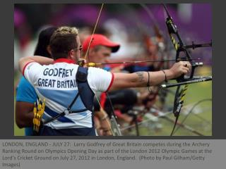 London Olympics 2012 - Archeryevent