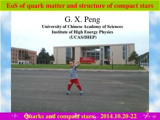 EoS of quark matter and structure of compact stars