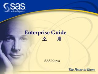 Enterprise Guide   ?       ?