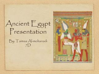 Ancient Egypt Presentation