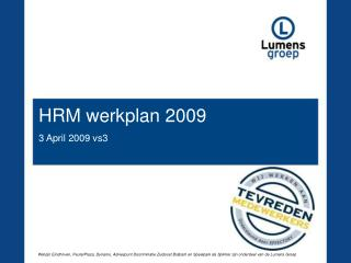 HRM werkplan 2009 3 April 2009 vs3
