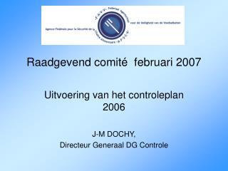 Raadgevend comité  februari 2007