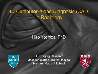 3D Computer-Aided Diagnosis (CAD) in Radiology