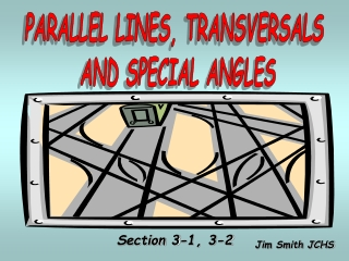 3.3 Parallel Lines  Transversals