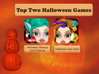 Top Two Halloween Games