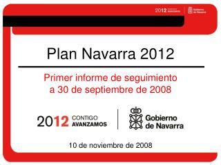 Plan Navarra 2012