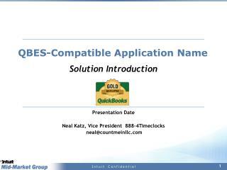 QBES-Compatible Application Name