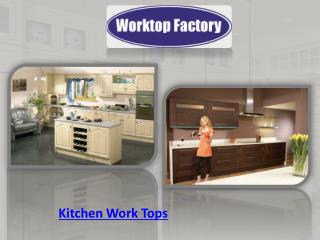 Kitchen Work Tops