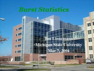 Burst Statistics