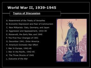 World War II, 1939-1945