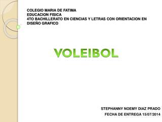 STEPHANNY NOEMY DIAZ PRADO  FECHA DE ENTREGA 15/07/2014