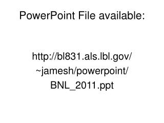 PowerPoint File available: