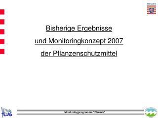 Monitoringprogramme