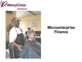 Microenterprise Finance