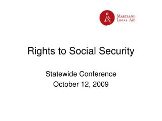 Rights to Social Security
