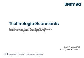 Technologie-Scorecards