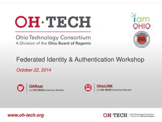 Federated Identity & Authentication Workshop