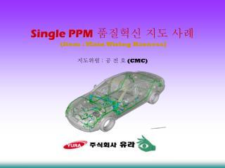 Single PPM 품질혁신 지도 사례