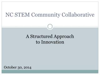 NC STEM Community Collaborative