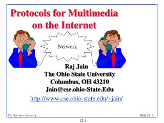 Protocols for Multimedia on the Internet