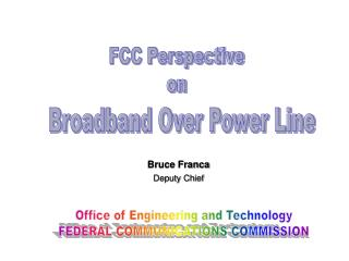 FCC Perspective on