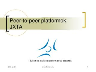 Peer-to-peer platformok: JXTA
