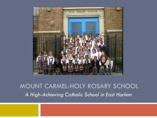Mount Carmel-Holy Rosary School