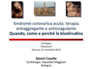 Convegno  � HeartLine � Genova, 15 novembre 2013