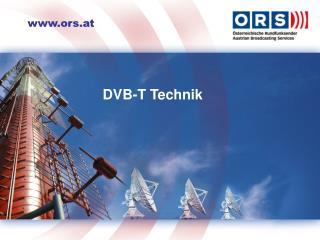 DVB-T Grundlagen  zur Einschulung von Callccenter-Agents